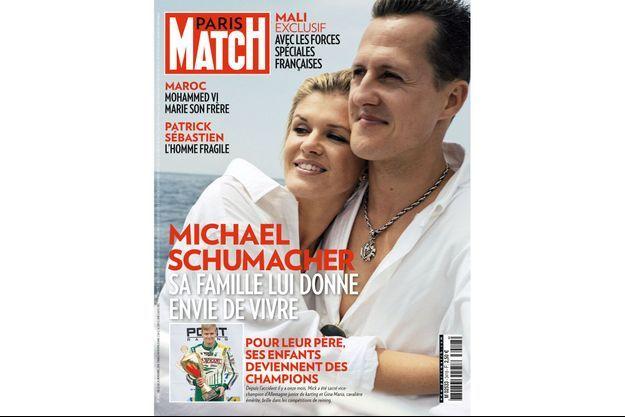La couverture du numéro 3418 de Paris Match.
