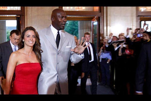 Michael Jordan et Yvette Prieto, en septembre 2009.