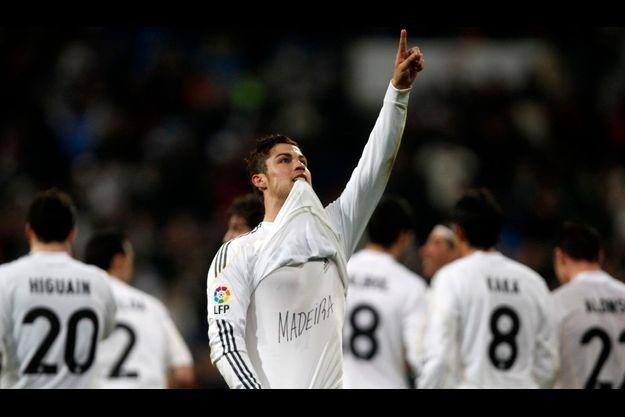 Cristiano Ronaldo a dédié son but de dimanche soir à l'île de Madère dont il est originaire.