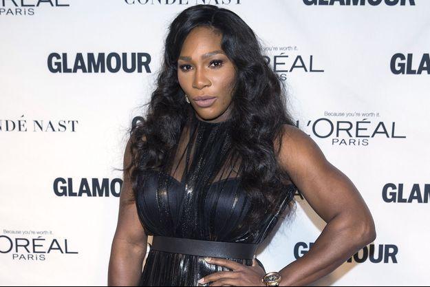 Serena Williams à New York le 9 novembre dernier.