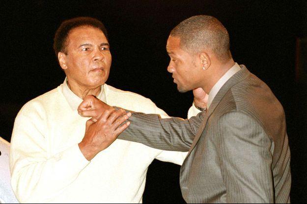Mohamed Ali et Will Smith en Floride, 2003