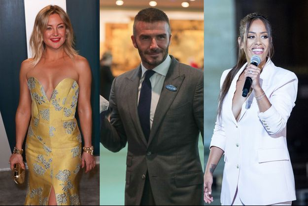 Kate Hudson, David Beckham et Amel Bent