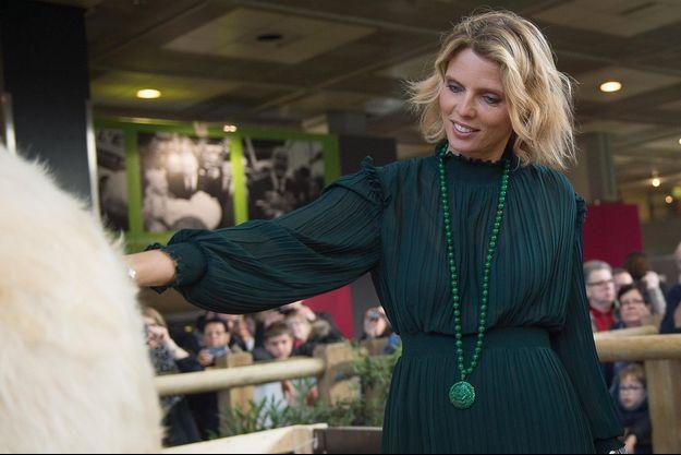 Sylvie Tellier au Salon de l'Agriculture en février 2020