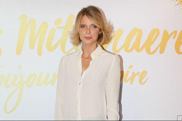 Sylvie Tellier à Paris, le 6 novembre 2018