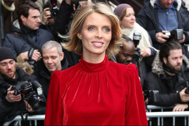 Sylvie Tellier en janvier 2018.