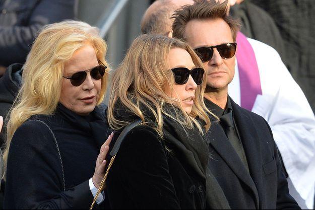 Sylvie Vartan avec David et Laura le 9 décembre 2017 à la Madeleine.