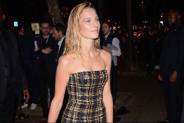 Ilona Smet à Paris en septembre 2017.