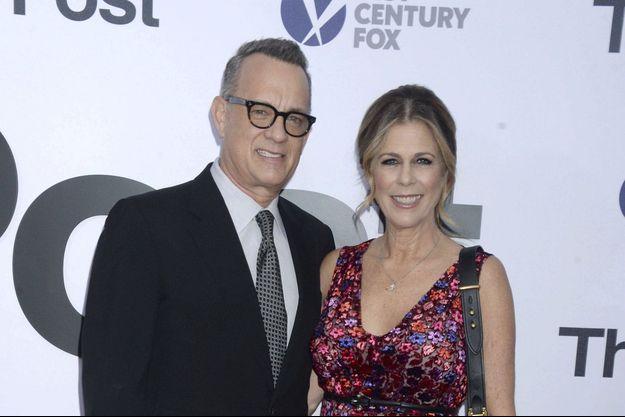 Rita Wilson et son mari Tom Hanks