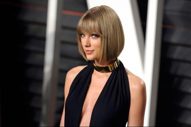Taylor Swift, le 28 février 2016 à Hollywood.