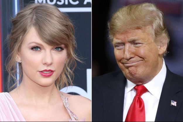 Taylor Swift, Donald Trump