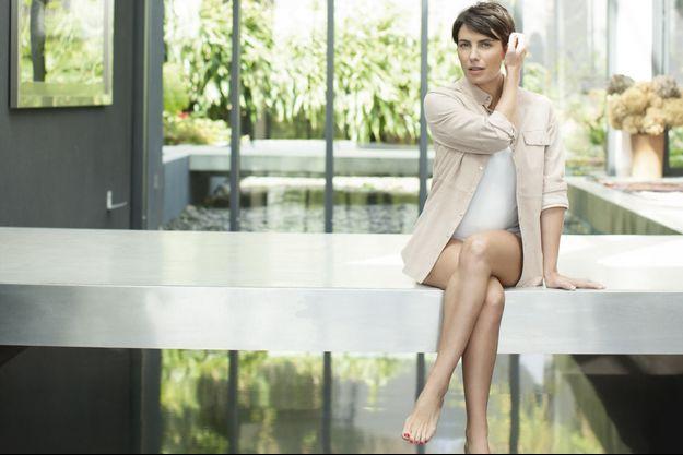 Alessandra Sublet, égérie Garnier, avait posé pour Match en avril dernier.