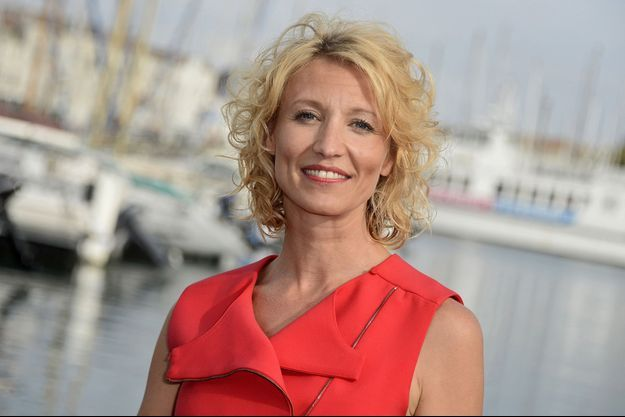Alexandra Lamy au Festival de la fiction TV de La Rochelle le 11 septembre dernier.