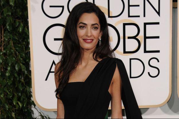 """Amal Clooney pourrait remplacer Donald Trump à la tête de l'émission """"Celebrity Apprentice""""."""
