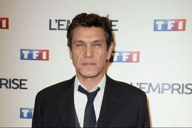 """Marc Lavoine à l'avant-première de """"L'Emprise"""" le 22 janvier dernier"""