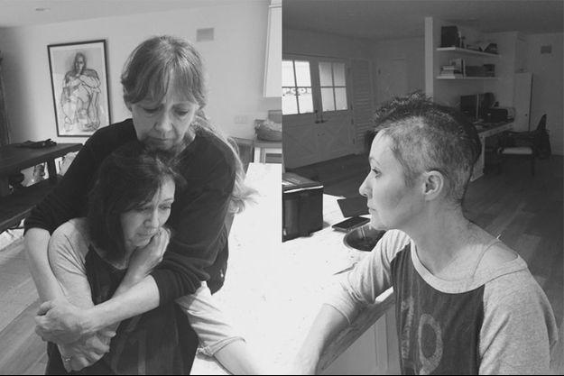 Atteinte par un cancer, Shannen Doherty se rase le crâne