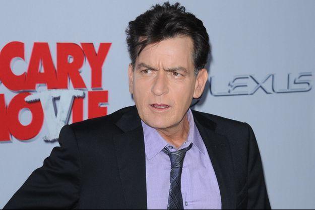 Charlie Sheen à Los Angeles en avril 2013.