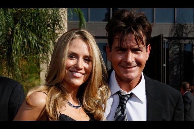 Charlie Sheen et Brooke Mueller, au temps du bonheur.