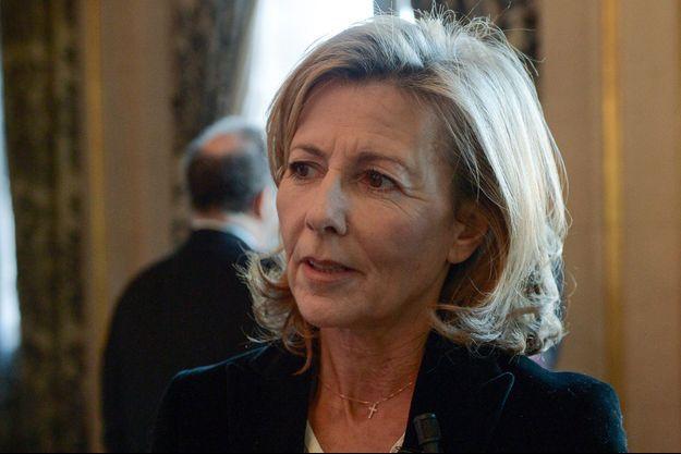 Claire Chazal en décembre 2015.