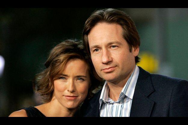 Téa Leoni et David Duchovny.