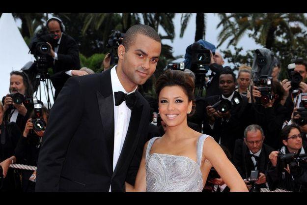 Eva Longoria et Tony Parker, au 62ème Festival de Cannes