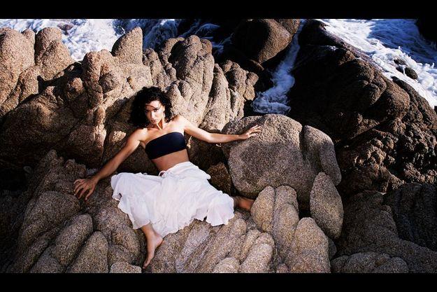 Jenifer, en 2005, en Corse, son île de beauté natale.