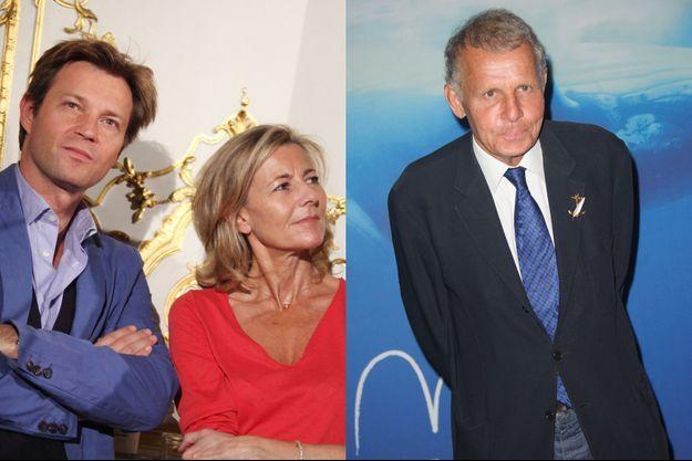 Laurent Delahousse et Patrick Poivre d'Arvor se sont exprimés pour évoquer le départ de Claire Chazal, qui présentait le JT de TF1 depuis 1991.