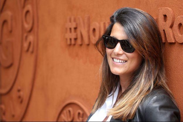 Karine Ferri à Roland Garros, 2016