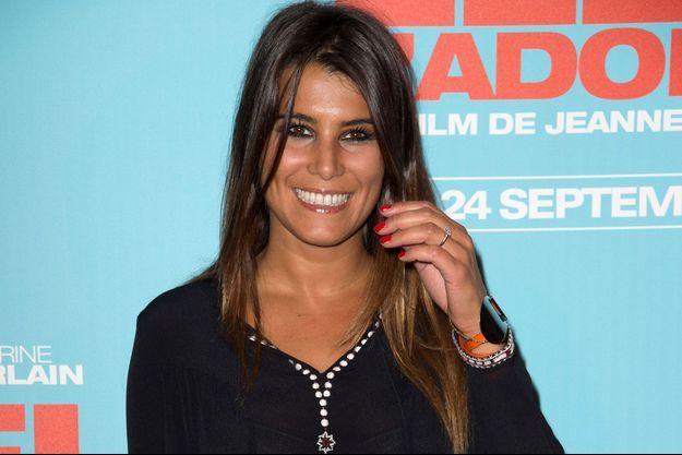 Karine Ferri, le 25 septembre 2014.