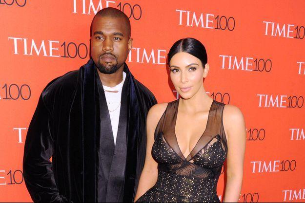 Kim Kardashian et Kanye West à New York le 1er avril dernier.