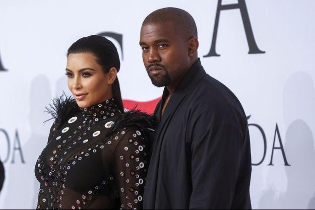 Kim Kardashian et Kanye West à New York le 1er juin dernier.
