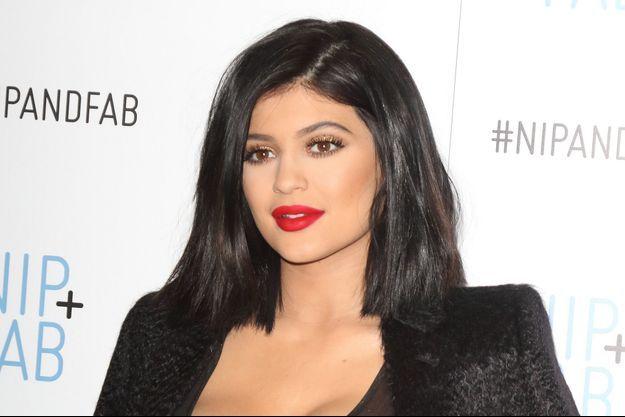 Kylie Jenner le 14 mars dernier à Londres