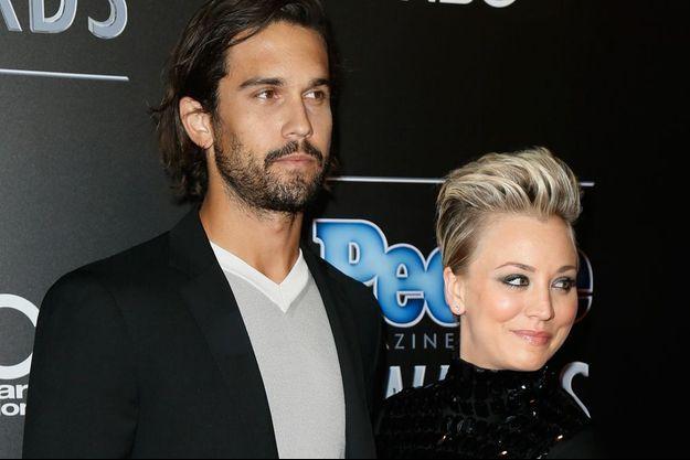 Kaley et son époux, à Beverly Hills, en décembre 2014.