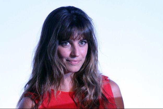 Laëtitia Milot lors du 10e anniversaire de la série «Plus belle la vie» à Marseille, le 9 septembre 2014.