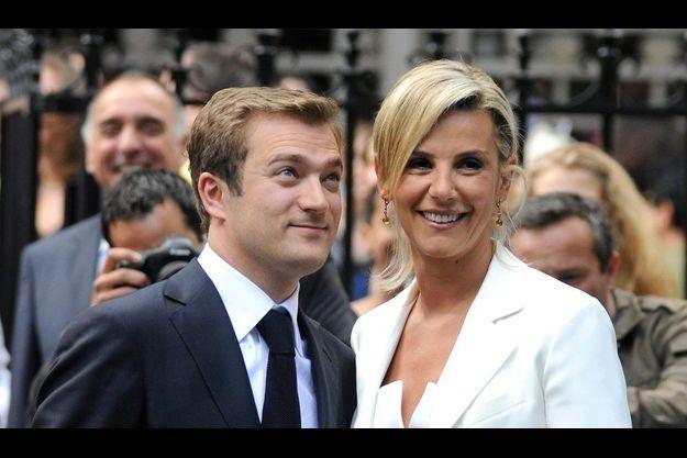 Laurence Ferrari et Renaud Capuçon se sont mariés le 9 juillet dernier à la mairie du XVIème arrondissement de Paris.