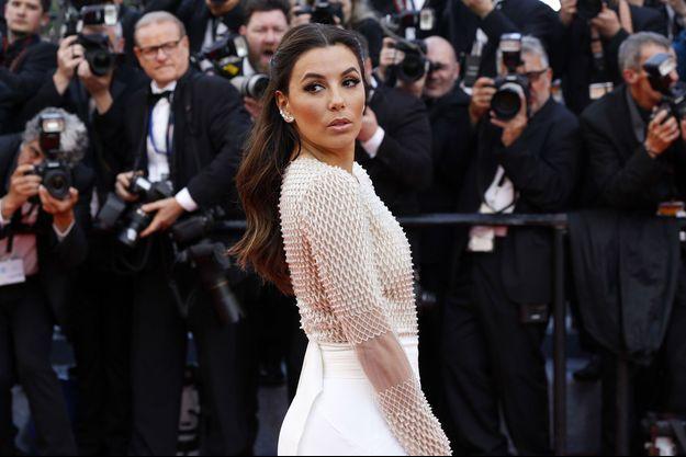 Eva Longoria au festival de Cannes le 15 mari dernier.