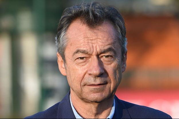 Michel Denisot à Paris, le 10 septembre 2014