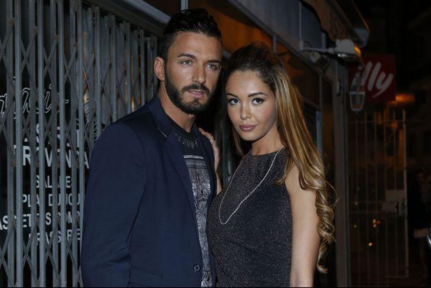 Nabilla et Thomas lors du festival de Cannes, en mai dernier.