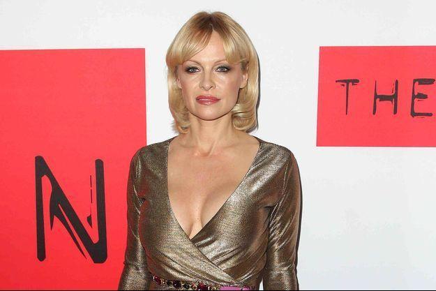 Pamela Anderson à Los Angeles le 13 mars dernier.