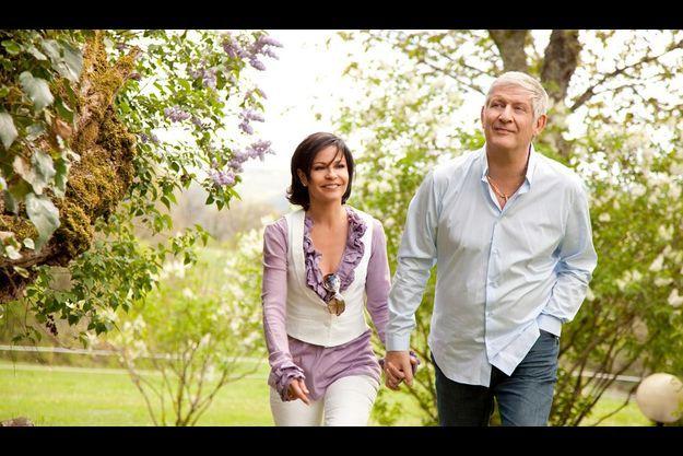 Sur leurs terres. Patrick et Nathalie ont fait un paradis de leur propriété de Martel, dans le Lot, la région où ils ont tous deux grandi.