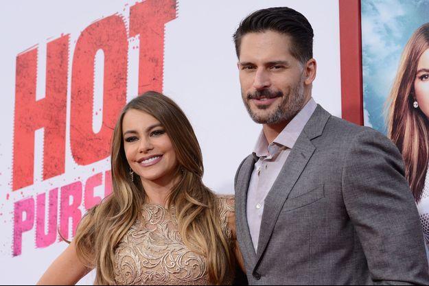Sofia Vergara et Joe Manganiello à Los Angeles le 30 avril dernier.