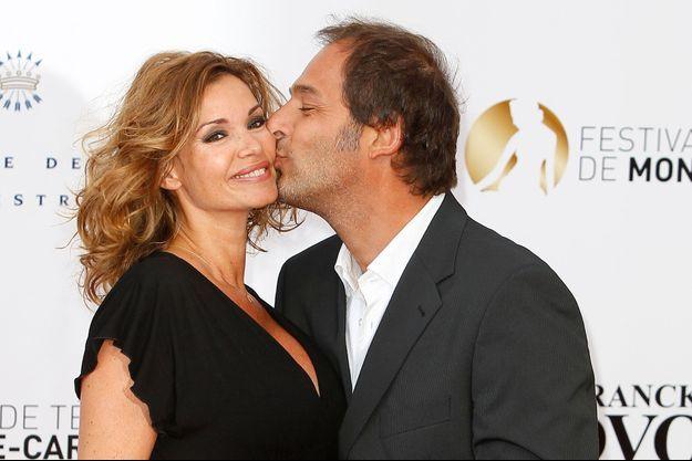 Ingrid Chauvin et son mari Thierry Peythieu, le 9 juin 2013