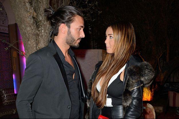 Nabilla et Thomas en décembre 2013.