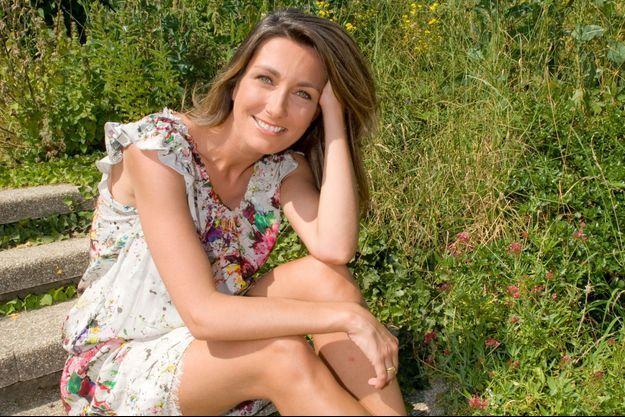 A Issy-les-Moulineaux, tout près de TF1, en 2012 : Anne-Claire Coudray remplace Claire Chazal pour la première année.