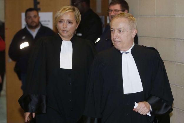Carine Piccio et Pierre-Jean Douviers, les avocats de David Hallyday.