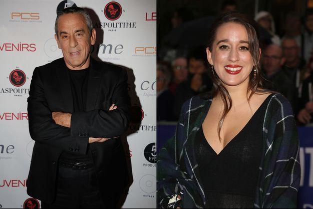 Thierry Ardisson et sa fille Manon
