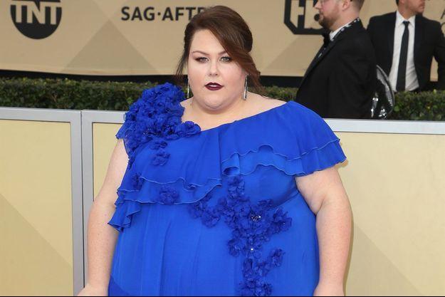 Chrissy Metz à la 24e soirée annuelle des acteurs Guild Awards à Los Angeles en janvier dernier.