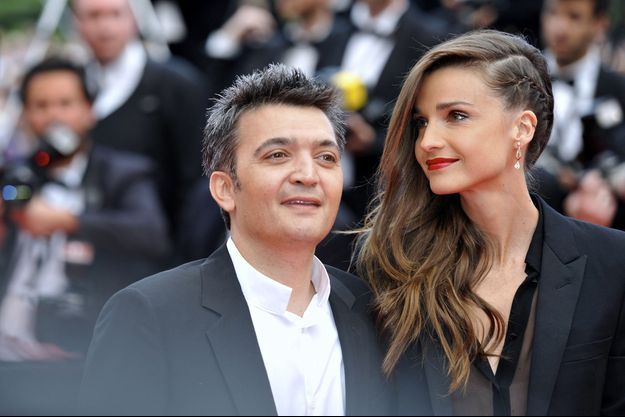 Thomas Langmann et Céline Bosquet au Festival de Cannes 2014