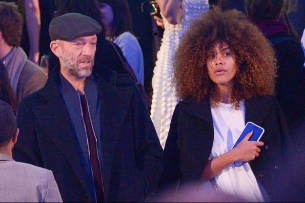 Tina Kunakey et Vincent Cassel en mars 2017.