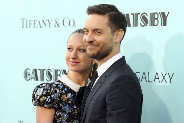 Tobey Maguire et Jennifer Meyer en mai 2013