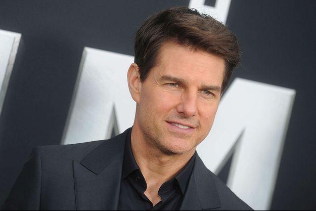 """Tom Cruise à l'avant-première de """"La momie"""", à New York le 6 juin 2017."""